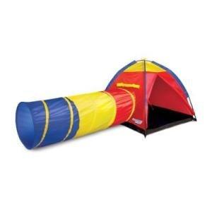 Discover Kids IndoorOutdoor Adventure Play tent Tunnel