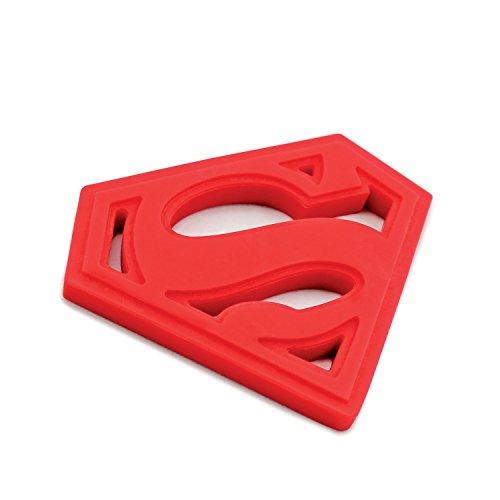 Bumkins Dc Comics Silicone Teether Superman
