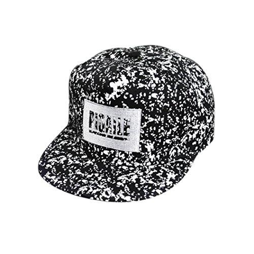 IuhanNew Embroidery Snapback Boy Hiphop Hat Adjustable Baseball Cap Unisex D