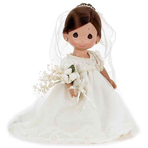 The Doll Maker Enchanted Dreams Bride Baby Doll Brunette 12