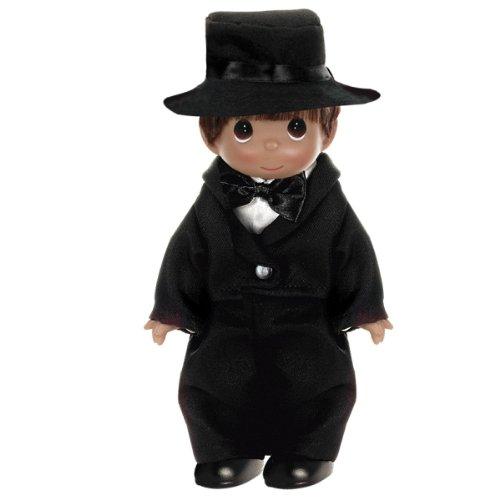 The Doll Maker Wedding Bells Groom Baby Doll Brunette 9