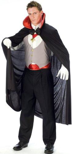 FunWorld Complete Vampire BlackWhiteRed One Size Costume