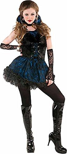 Teen Girls Midnight Vampire Costume - Large
