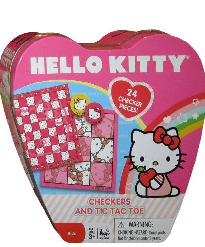 Hello Kitty Checkers Board Games