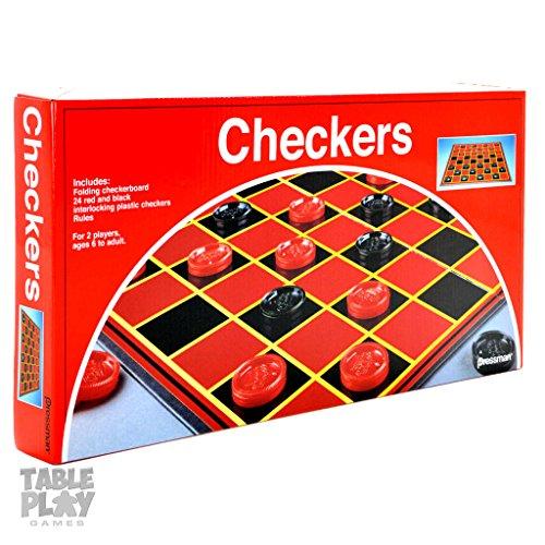 Pressman 3202-06 Checkers Board Game