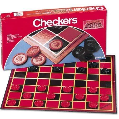 Pressman Checkers Board Games - 2 Pack