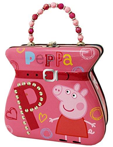 The Tin Box Company 887507-12 Peppa Pig Carry All Tin Purse