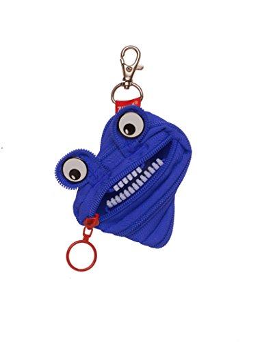 ZIPIT Monster Mini Pouch Coin Purse Royal Blue