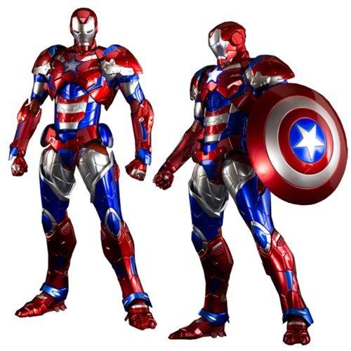 2015 Exclusive Marvel Sentinel Re Edit Iron Man 03 Iron Patriot Action Figure