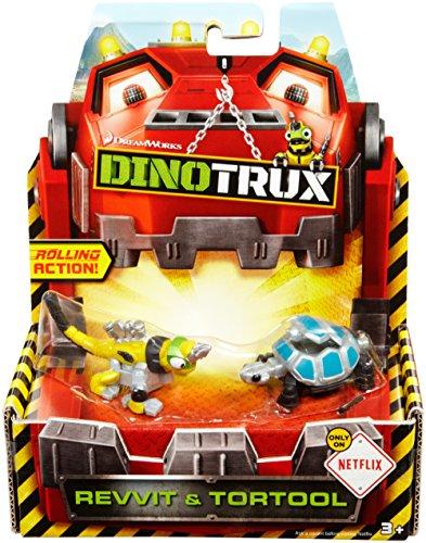 Dinotrux Diecast Revvit Tortool 2-pack