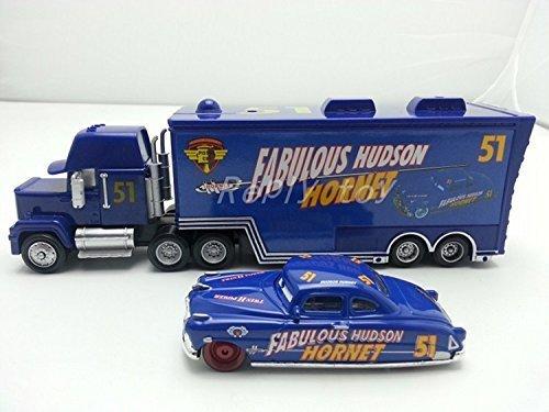 Pixar Cars Diecast Mack Uncle No51 Fabulous Hudson Hornet 155 Metal Toy Car