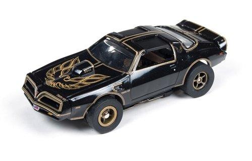 SC274 Auto World Smokey and The Bandit Firebird TA Black 4 Gear Electric Slot Car