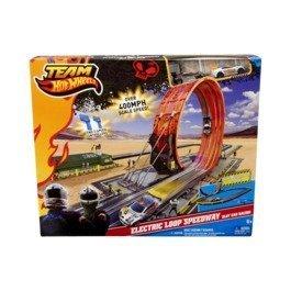 Team Hot Wheels Electric Loop Speedway Slot Car Racing