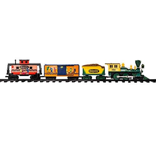 Crayola G-Gauge Lionel Train Set