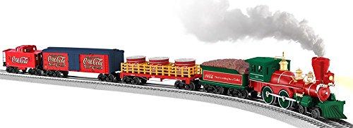 Lionel Coca-Cola 125th Anniversary Vintage Steam O-Gauge Train Set