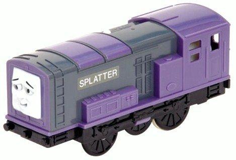 Thomas Friends Trackmaster Battery Operated Splatter Motorized Train