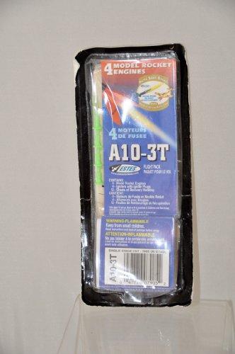 4 Model Rocket Engines Estes A10-3T