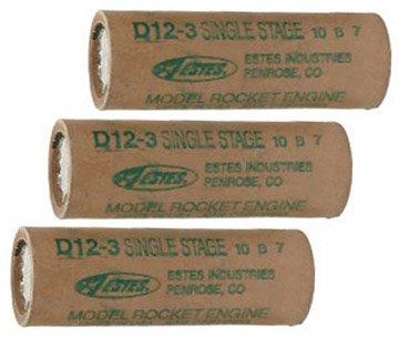 Estes D12-5 Rocket Engine