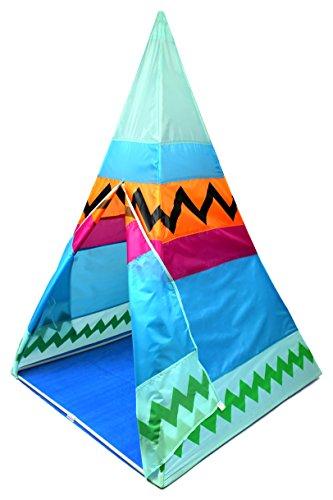 Old Wild West Children Kid Pretend Play Tent w Storage Bag Colorful Fun Kids Hut Child House