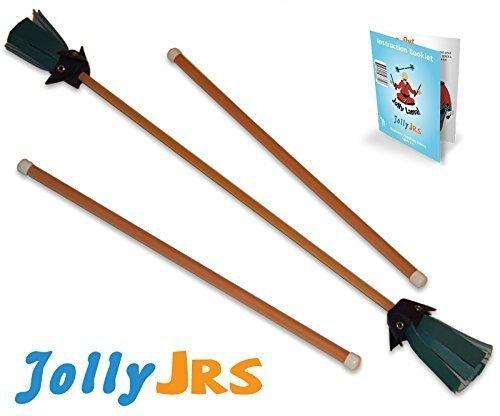 Orange Jolly Jrs Beginner Juggling Sticks