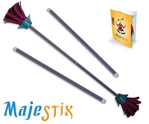 Purple Majestix Juggling Sticks Devil Sticks