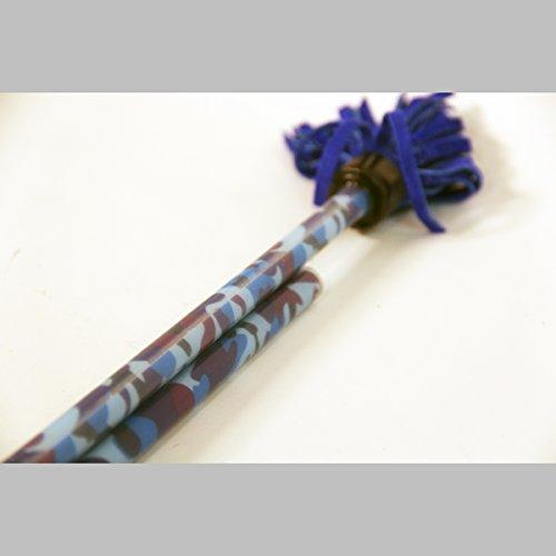 Z-Stix Made to Order Handmade Juggling Sticks-Flower Sticks-Devil Sticks Mosquito 22Blue Camo