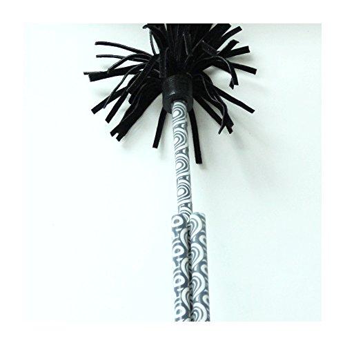 Z-Stix Mosquito Flower Sticks- BlackWhite Circles- Juggling Sticks