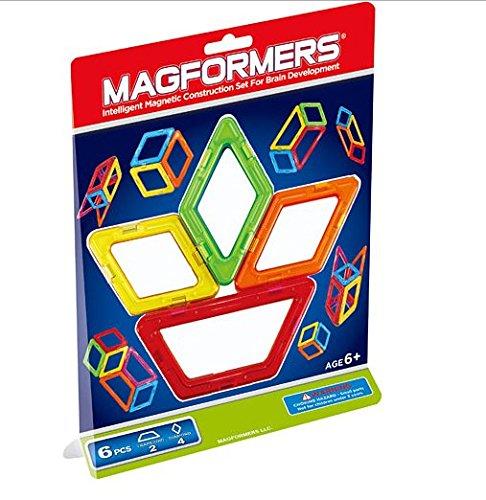 Magformers Quadrilateral Building Magnet Set