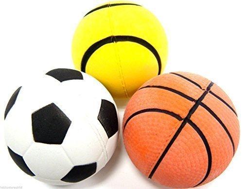Soft Ball Sponge Ball Dog Balls Football Soft Soccer Pet Toy Indoor Football