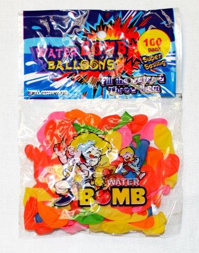 100 Pack Water Balloons Slingshot Launcher