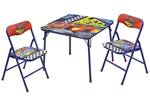 Nickelodeon Blaze the Monster Machine Table Chair Set 3 Piece