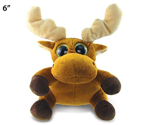 Big Eye Moose Plush 6