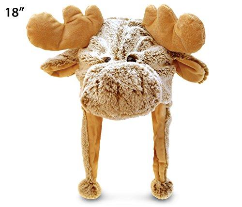 Puzzled Moose Super Soft Plush Hat 18 Inch