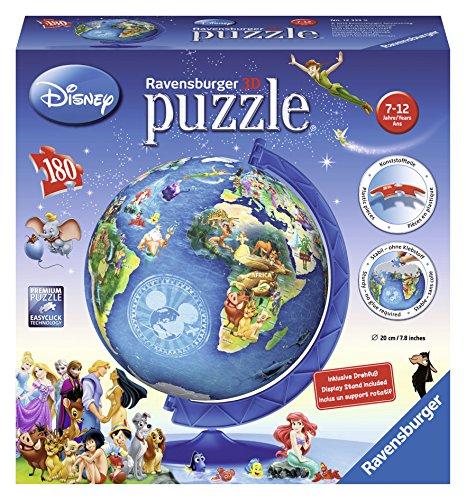 Ravensburger Disney Globe 3D Puzzle Ball 180 Piece