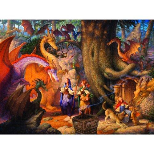 SunsOut - Scott Gustafson - Confabulation of Dragons - Jigsaw Puzzle - 1000 Pc