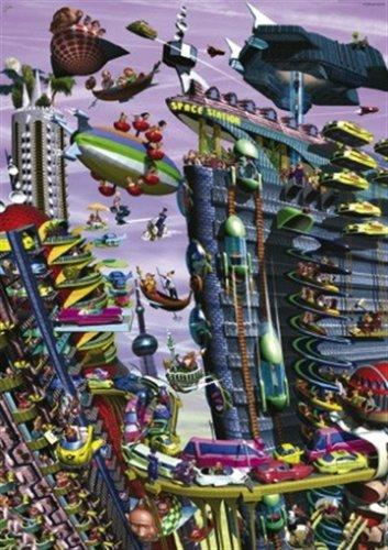 Heye Jigsaw Puzzle 1000 pieces - Space Kravarik - Cod 29186
