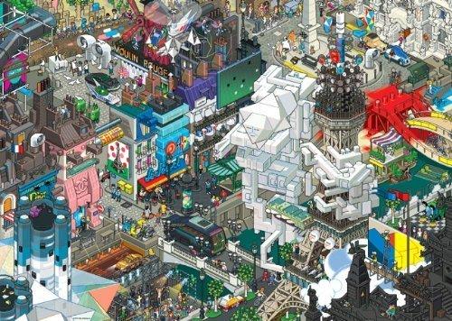 Heye Jigsaw Puzzle 1500 pieces - Paris eBoy by Heye