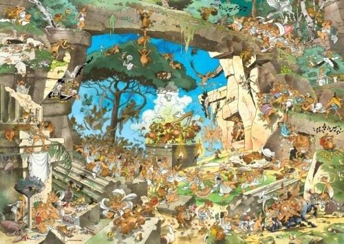 Heye-Jigsaw Puzzle-heye-29337Classic Calligaro Satyrs-1000Pieces by Heye