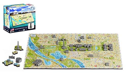 4D Cityscape Mini Puzzle 164 Piece Washington DC