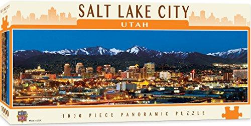 MasterPieces American Vistas Panoramic Salt Lake City Puzzle 1000 Piece