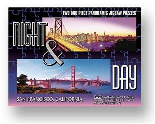 Night Day City Puzzle - San Francisco