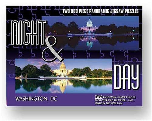 Night Day City Puzzle - Washington DC