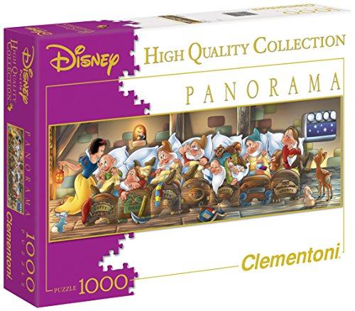Clementoni Disney Snow White Panorama Puzzle 1000 Piece