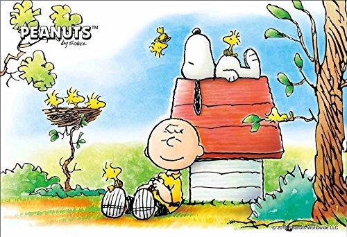 Epoch Jigsaw Puzzle 11-417 Peanuts Snoopy Sleepy 1000 Pieces