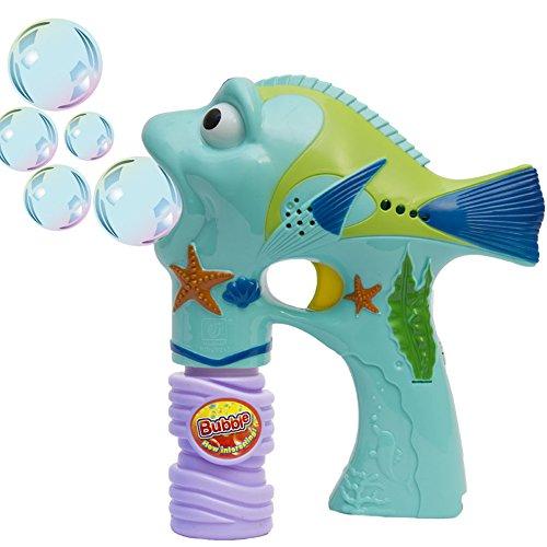 Fun Central AU217 LED 6 Inch Bubble Gun - Fish