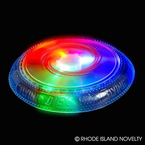 10 Light Up LED Flying Disc