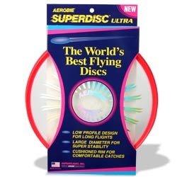Aerobie Superdisc Ultra Flying Disc - Red