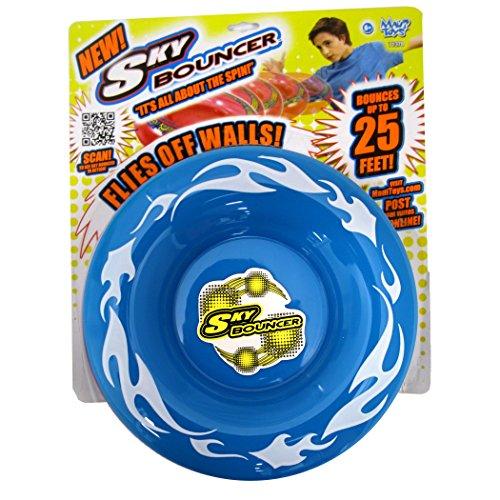 Maui Toys Pop Skybouncer Fire Blue Flying Disc