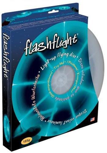Nite Ize Flashflight LED Light Up Flying Disc Turquoise Large