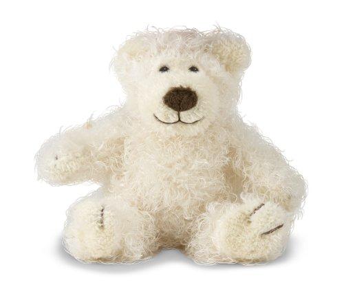 Melissa Doug Baby Roscoe Bear - Teddy Bear Stuffed Animal - Vanilla